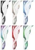 Design swirl border Stock Images