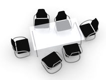 Design Table and Chairs Stock Image