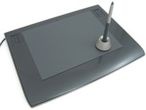 Design tablet Stock Image