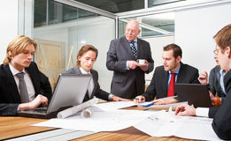 Design team meeting Royalty Free Stock Photo