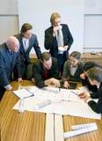 Design Team Meeting Stock Photography
