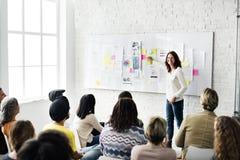 Design Team Meeting Presentation Creative Concept Stockfotografie