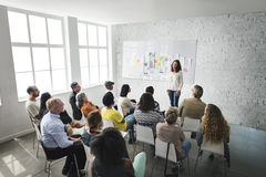 Design Team Meeting Presentation Creative Concept.  Royalty Free Stock Photography