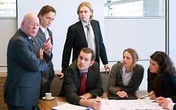 Design team supervisor royalty free stock photos