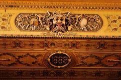 Design Teatro Thomas Jerry Interior in Cienfuegos   Innendekorat Lizenzfreies Stockbild