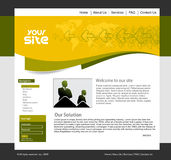 Design template Royalty Free Stock Photography