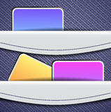 Design template banners Royalty Free Stock Photo