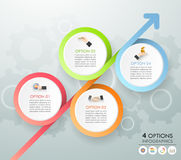 Design template business concept infographic template Stock Photo