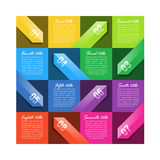 Design template Royalty Free Stock Images