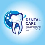 Health Dent Logo design . Cosmetic dental dentistry. Denta. Design template dental logo. Dental Logo Design Vector Royalty Free Stock Image