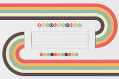 Design template. Eps10  background. See my other works in portfolio Royalty Free Stock Images