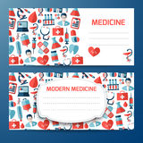 Design template for medical icon Royalty Free Stock Photos
