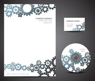Design template set Stock Images