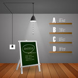 Design template steps to success , for business concept. Vector illustration Royalty Free Stock Image