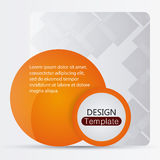 Design template website decoration layout icon Stock Image
