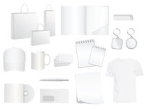 Design templates for brand style Royalty Free Stock Photos