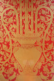 Design thai pattern background Royalty Free Stock Images