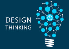 Design thinking concept. Vector illustration background Royalty Free Stock Photo