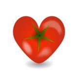Design tomato heart icon Stock Photography
