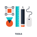 Design tools Royalty Free Stock Photos