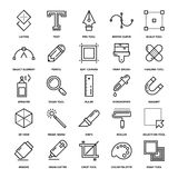 Design Tools Icons Stock Images