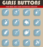 Design tools. Simply icons for web and user interface Stock Photo