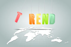 Design trend alphabet background, Royalty Free Stock Photo