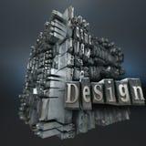 Design, typescript Royalty Free Stock Photos