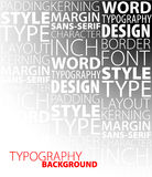 Design and typography background Royalty Free Stock Photo