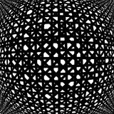 Design uncolored abstract pattern Royalty Free Stock Image