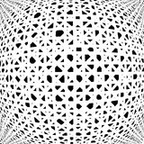 Design uncolored abstract pattern Stock Images