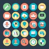 Design-und Entwicklungs-Vektor-Ikone 1 Lizenzfreies Stockfoto