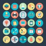 Design-und Entwicklungs-Vektor-Ikone 4 Lizenzfreies Stockfoto