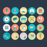 Design-und Entwicklungs-Vektor-Ikone 5 Lizenzfreies Stockfoto