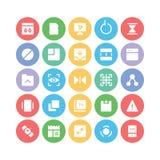 Design- & utvecklingsvektorsymboler 7 Arkivbilder