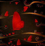 Design for valentines Stock Images