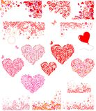 Design for Valentines Day party Royalty Free Stock Photography