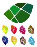 Design vector leaf logo element Royalty Free Stock Image