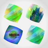 Design vector logo template. Colorful pattern. Royalty Free Stock Image