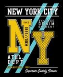 Vector typography varsity collection 005. Design vector typography varsity  collection  for t shirt print men Stock Photos