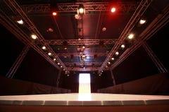 Design of versatile illumination of  podium Stock Photos