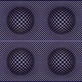 Design verworfene Bälle 3D Stockfotografie