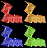 Design - vinkelformiga beståndsdelar Royaltyfria Foton