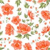 Design of vintage floral pattern. Stock Photography