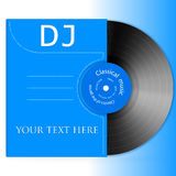 Design Vinyl Record. Vector illustration background in the form of vinyl records Royalty Free Stock Image