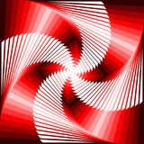 Design vortex movement tetragon background Stock Photo