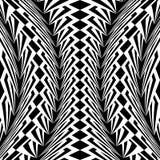 Design warped monochrome vertical pattern Stock Photo