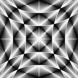 Design warped trellised pattern Stock Photos