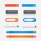 Design web  Foto de Stock Royalty Free