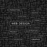 DESIGN WEB Fotos de Stock